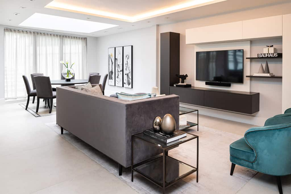 Open Plan lounge - Wimbledon