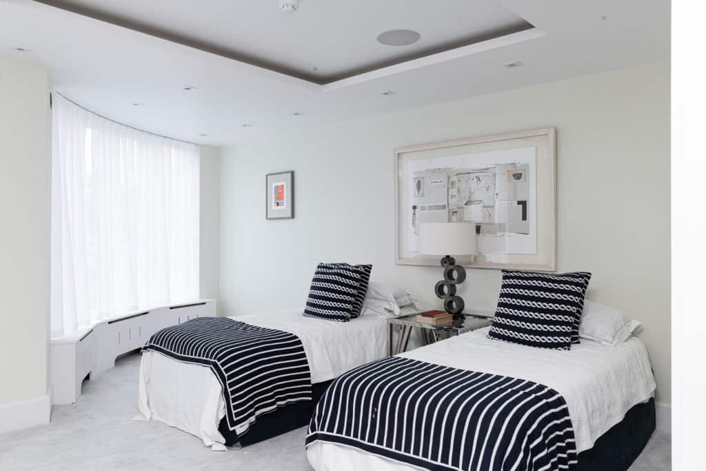 Twin Room - Wimbledon Show Home